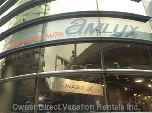 Amlux: Toyota's Futurist Car Showroom- 2 Mins Walk from Apartment