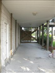 Carport with Storage - Additional Parking in Front