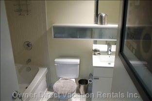 Washroom - Shower and Bath Tub