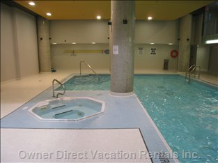 Swimming Pool and Whirlpool with Change Rooms