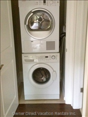 Bosch Condensing Dryer and Front Loading Washer