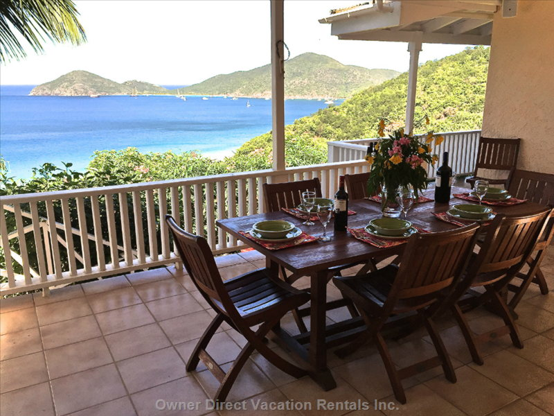 3-bedroom beach villa in Tortola, British Virgin Islands ID#227255