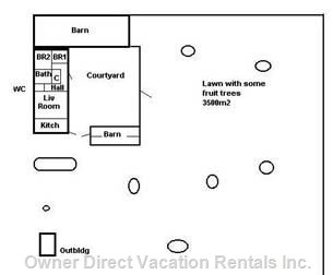 Property Plan, House and Yard