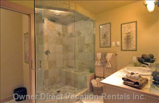 Large Steam Shower (Sauna) with Rain Head