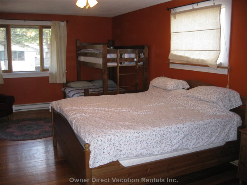 Master Bedroom with Bunkbed for the Kids