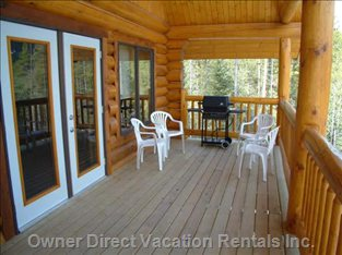 Outside Covered Deck