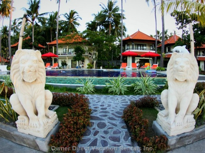 1-Bedroom condo in a beachfront mini hotel located on the shores of Bali Sea, ID#209899