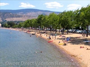 Okanagan Beach in Penticton