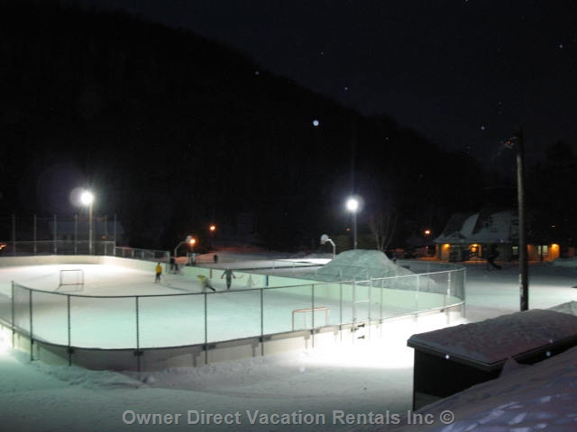 Skating at Mont Tremblant