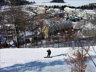 Snowboarding at Mont Tremblant