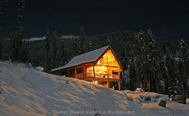 Luxury log chalet in Panorama, BC #54254
