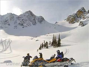 Snowmobiling in Sicamous, BC ID#89179
