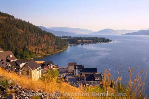 2-Bedroom cottage on Lake Okanagan's western slope