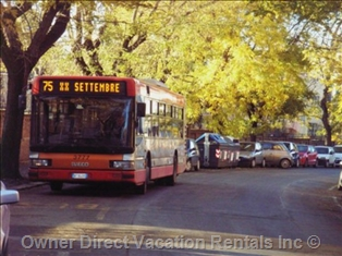A bus in Rome ID#205820