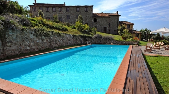 4-Bedroom apartment ideally situated on the hills above the famous town of Lucca, ID#201472