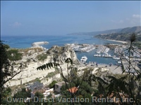 Tropea Harbour to Zambrone