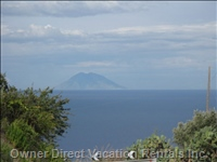 Stromboli Island - Famous Stromboli (the Aeolian Rane of Islands) Location for the Ingrid Bergman Movie of the Same Name.