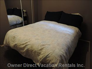 The 3rd Bedroom Contains a Double Bed with a Firm, Yet Comfortable Mattress.
