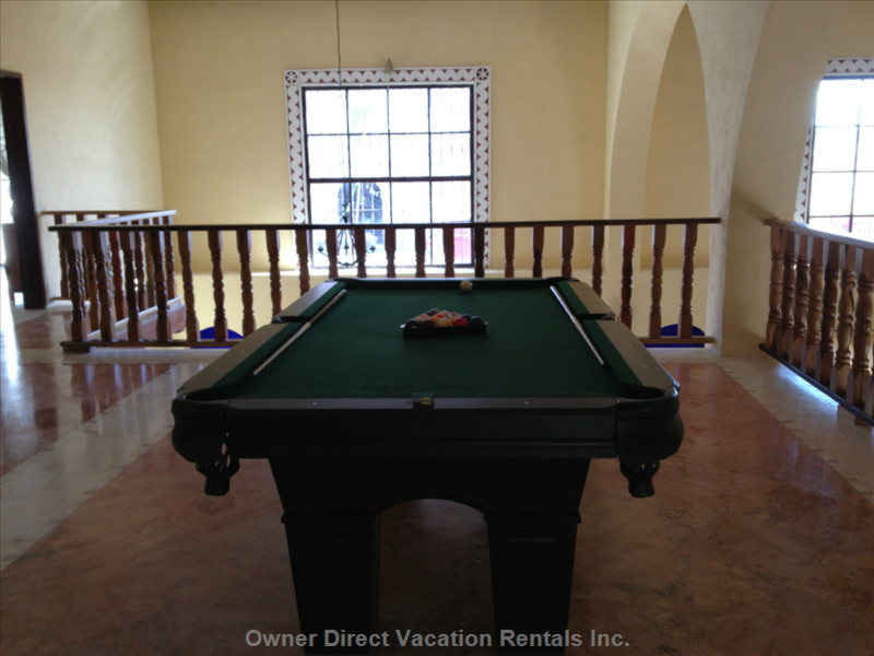 The Billiard Table in the Gallery