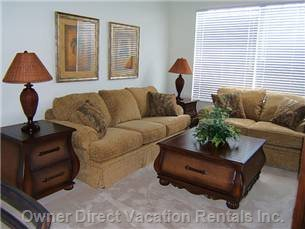 Living Area - Similar but May Not be this Unit