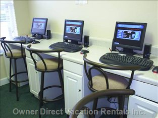 Business Center with High Speed Internet