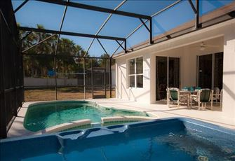 Private Cul De Sac Lot, South Facing Pool (not overlooked), Spa and Kiddy Pool