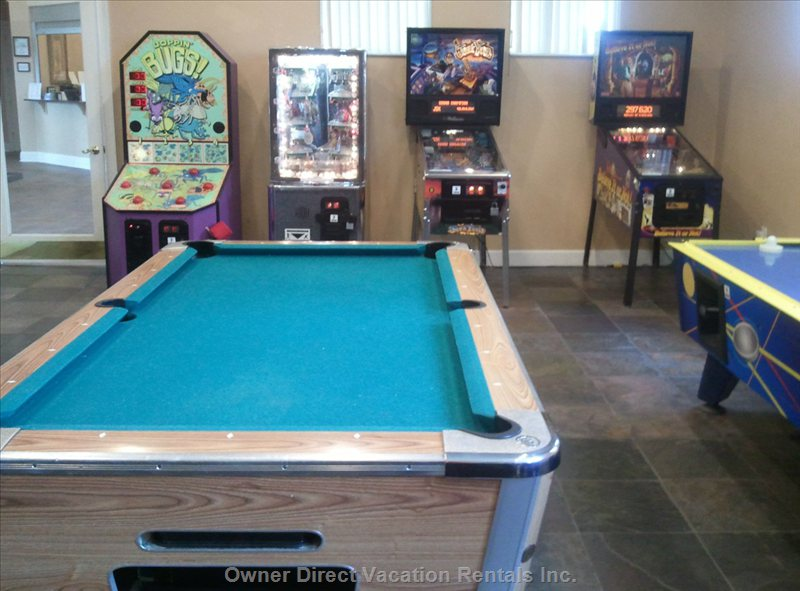Clubhouse Video & Pool Table Room