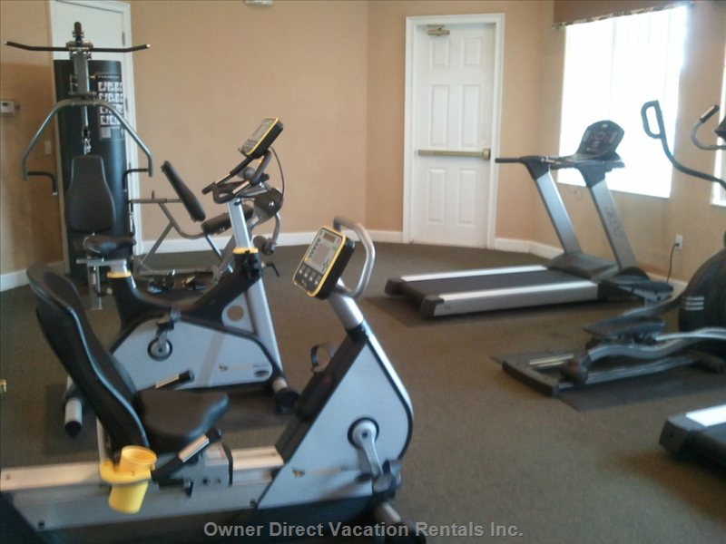 Clubhouse Fitness Equipment