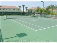 Tennis Courts within Fiesta Key