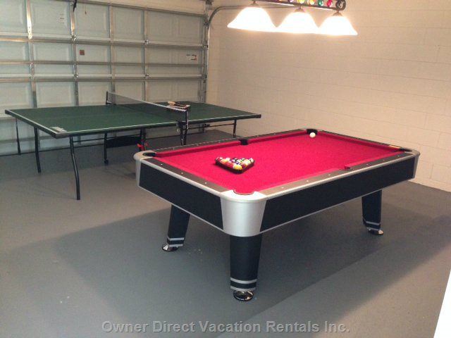 Game Room with Table Tennis , Pool Table , Darts