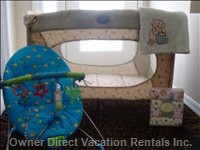 Baby - we Supply the above Items Free of Charge and Now Have an Additional Travel Cot and Two Baby Chairs