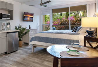 Gorgeous Maui Banyan Studio Newly Remodeled - Steps to Beach!