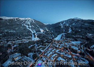 Awesome X 2. Whistler & Blackcomb Mountains: 1609 M Vertical with 37 Lifts and 11.7 M Annually