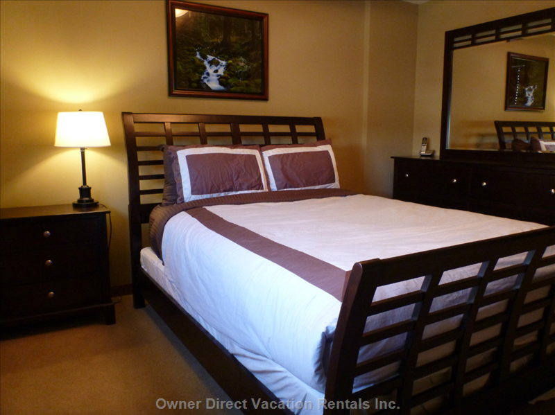 Your Organic Bedroom: Vacation Condo Rental In Canmore