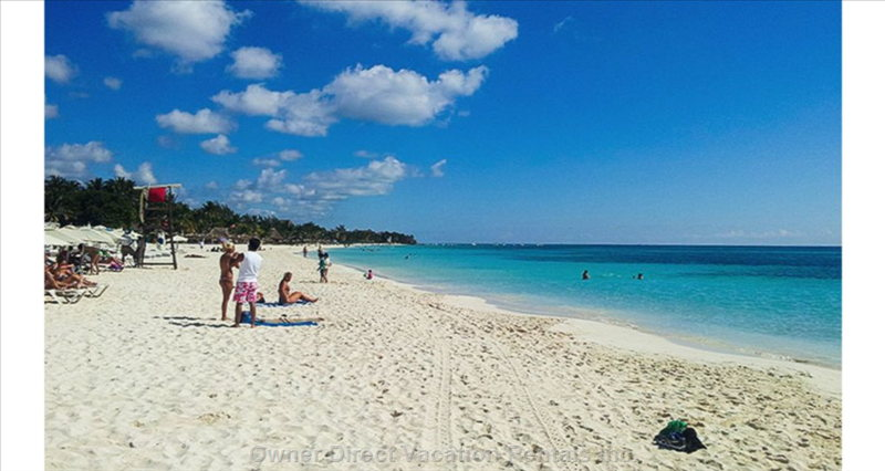 Mamita's Beach - the Pride and Joy of Playa Del Carmen - Free of Rock and Coral, Boats, and Excess Seaweed.