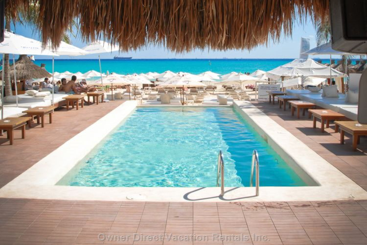 The Pool at the Beach Club. Discount Passes are Available to all Guests.