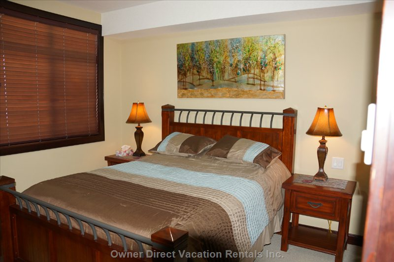 Second Bedroom with Comfortable Queen Bed