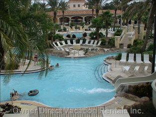 Lazy River Part of 2-Acre Swimming Complex