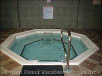 Jacuzzi near the Fitness Room