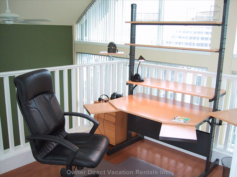 Loft Office Area