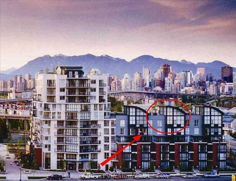 Area Overview - Unit Located in the Red Circle