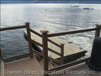 Stairs down to Floating Dock