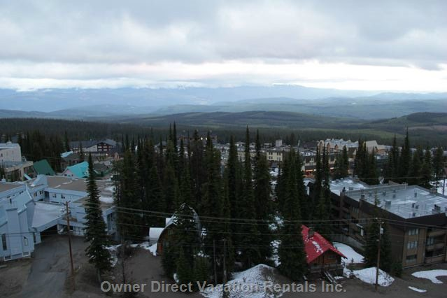 Balcony View over the Monashee Mountain Range