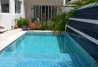Tropical Cozumel New Listing.  2 Bedrooms, 2 Bath, Pool