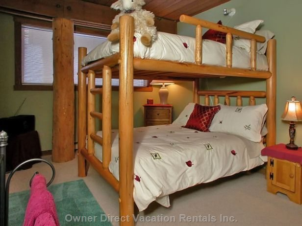 Second Bedroom on the Second Floor - Double Bunk -  Sleeps 2 on Top and 2 on Bottom