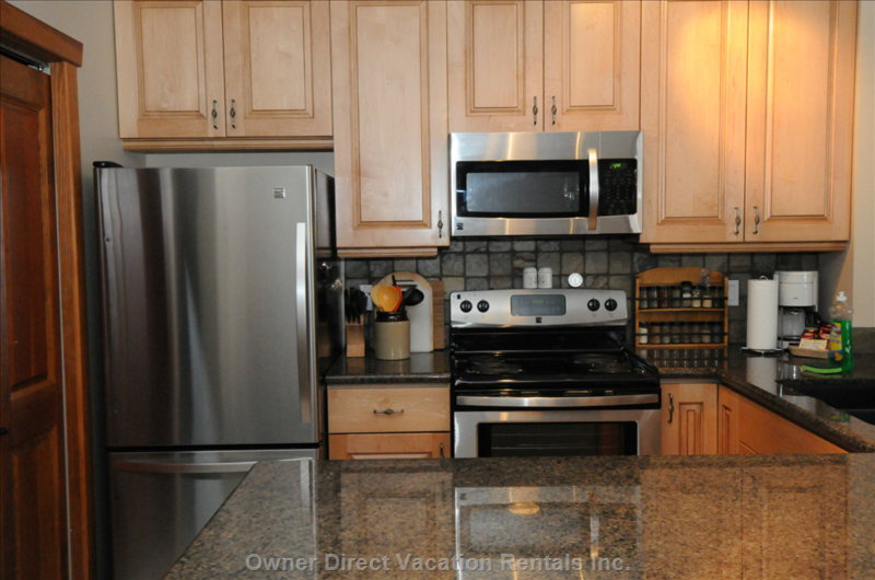 Kitchen with Stainless Appliance