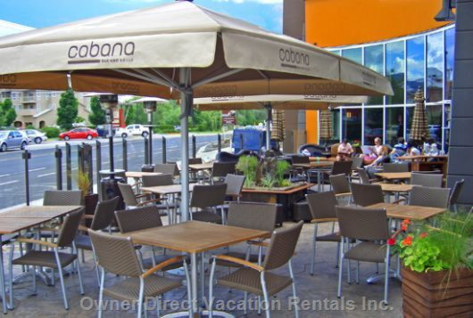 Cabana Bar & Grill Outdoor Patio