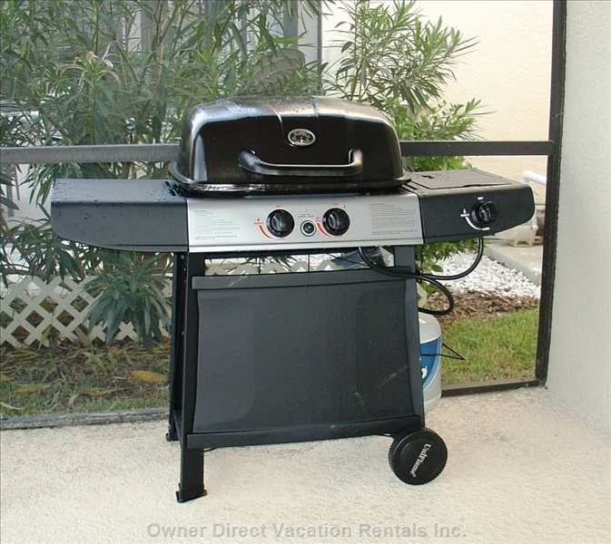 Free Bbq Grill. We Even Provide Gas for the Grill.