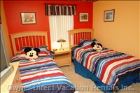 Disney-Themed Kids Bedroom