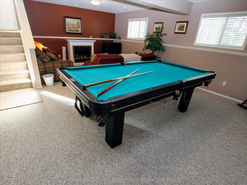 Pool Table - Lower Level